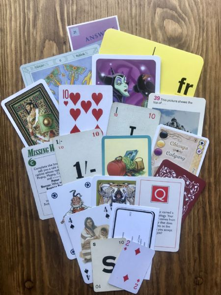 20 Assorted Playing Cards